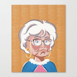 Golden Girls - Sophia Petrillo Canvas Print