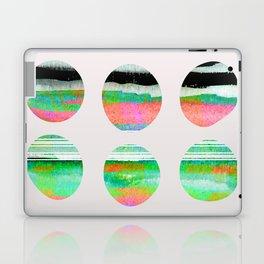 colorful circles pattern design Laptop & iPad Skin