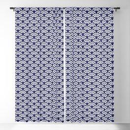 Decorative Seigaiha // Japanese Collection Blackout Curtain