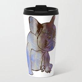 French Bulldog Pyppy Cute baby Dog Travel Mug