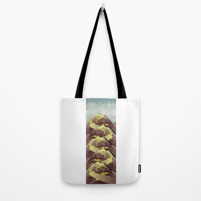 The Great, Great Night Mountain No. 4 Tote Bag