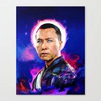Donnie Yen Canvas Print