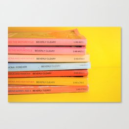 Ramona Stack Canvas Print