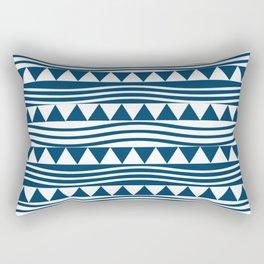 navy style Rectangular Pillow