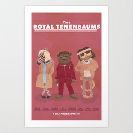 we'll never be royal Art Print