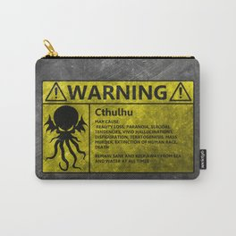 Cthulhu warning Sign Carry-All Pouch