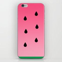 Watermelon Vibes iPhone Skin