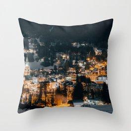 Cortina D'ampezzo - Dolomites - Italy Throw Pillow