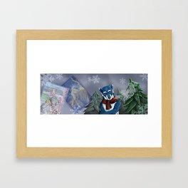 Winterwolf Framed Art Print