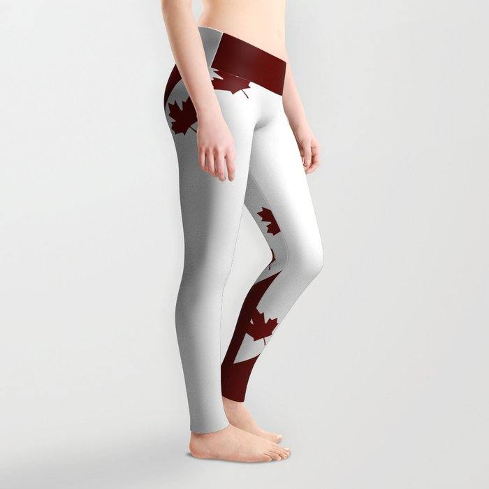 Canada - Strong and Free Leggings