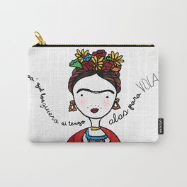 Frida Kahlo by Ashley Nada Carry-All Pouch