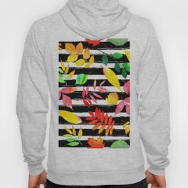 Watercolor Leaves Hoody