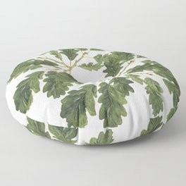 Oak leaf ensemble Floor Pillow