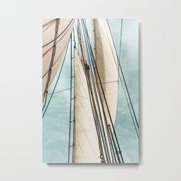Set Sail Metal Print