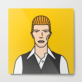 David Bowie – The Thin White Duke Metal Print