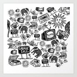 Shreya Print Art Print