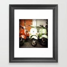 Together Peace Framed Art Print