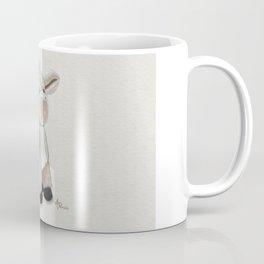 Cuddly Donkey Watercolor Coffee Mug