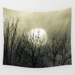 Winter Into Spring Wall Tapestry