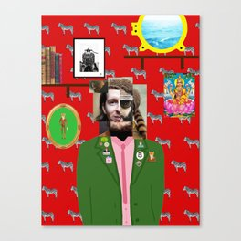 Wes Anderson illustration Canvas Print