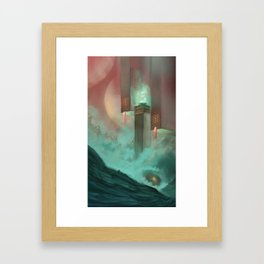 Temple of Earth Framed Art Print