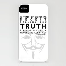 Truth Revolution - V for Vendetta iPhone (4, 4s) Slim Case