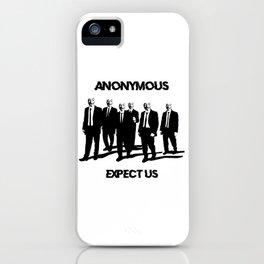 Anonymous iPhone Case