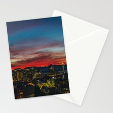 Seattle Sunset Stationery Cards