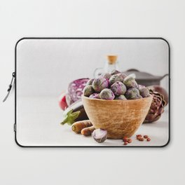 Fresh organic purple fruits and vegetables Laptop Sleeve