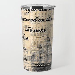 Count of Monte Cristo quote Travel Mug