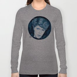 Planet Earth is Blue // Bowie Long Sleeve T-shirt