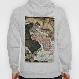 Egon Schiele - Death and the Maiden - Digital Remastered Edition Hoody
