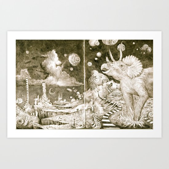 The Road to the Outer Oops Art Print