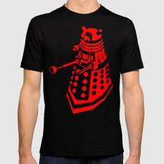 Dalek Mens Fitted Tee SMALL Black