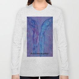 Half Moon Yoga Long Sleeve T-shirt