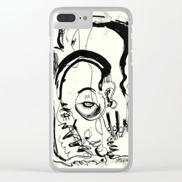 Downfall Clear iPhone Case