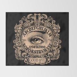 Mystic Eye Ouija Throw Blanket