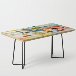 Mid-Century Modern Art 1.3 -  Graffiti Style Coffee Table