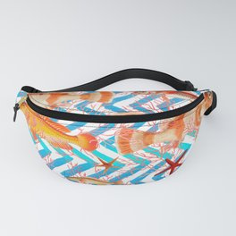 ORANGE FISH Fanny Pack