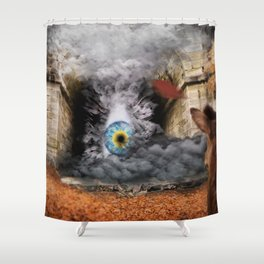 The lost truth Shower Curtain