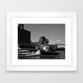 Old Port Montreal Framed Art Print