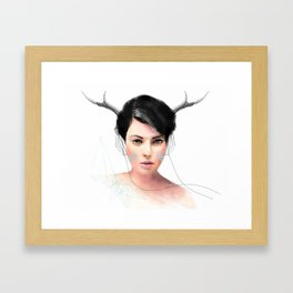 Liz Framed Art Print