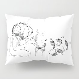 The Pianist Pillow Sham