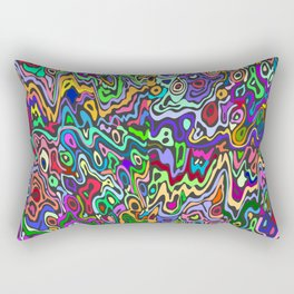 Acid Trip Rectangular Pillow
