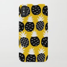 Black pineapple. Slim Case iPhone X