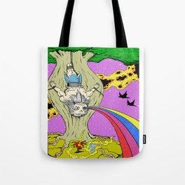 Cosmic Odin Tote Bag