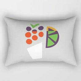 Berry Cocktail Rectangular Pillow