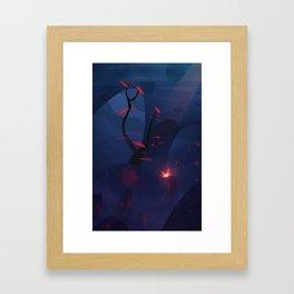 The small traveler Framed Art Print