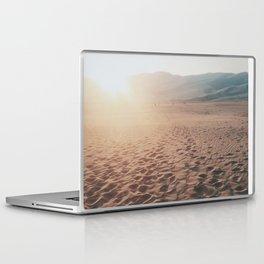 Desert Footprints Laptop & iPad Skin