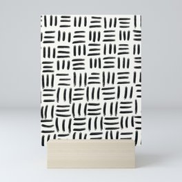 Three Stripes Pattern Mini Art Print